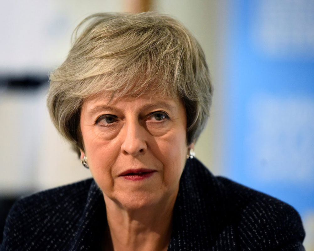 UK PM May says working on Brexit agreement with Labour