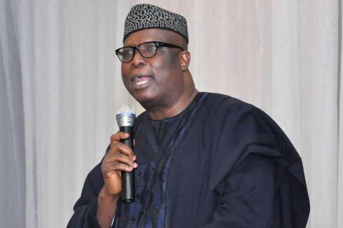 The former Special Adviser to President Muhammadu Buhari on Political Matters, Babafemi Ojudu