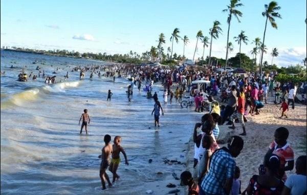 Eid-el-Filtri: Fun-seekers besiege Alpha Beach