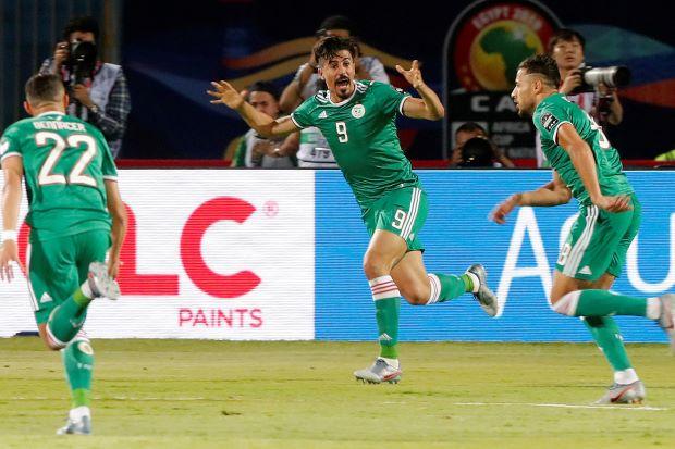 Belaili fires physical Algeria to win over Senegal