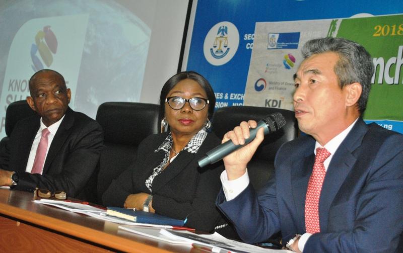 SEC partners Korea for development of derivatives market in Nigeria