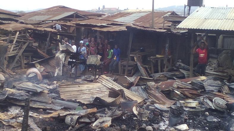 Fire guts part of Makurdi Modern Market