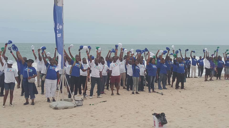 Nestle Nigeria cleans up Beach to commemorate World Ocean Day