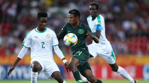Nigeria's Flying Eagles crash out of U20 World Cup after defeat by Senegal