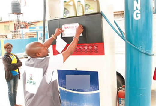 DPR seals 3 filling stations in Makurdi over alleged sharp practices