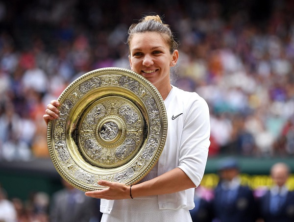 Halep stuns Serena to win Wimbledon title